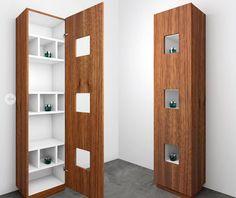 meuble colonne de salle de bains CUBE Componendo