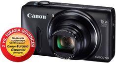 Canon Powershot SX600 HS Siyah Dijital Fotoğraf Makinesi :: www.cazipfiyattan.com