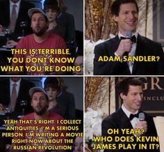 Andy Samberg vs Adam Sandler