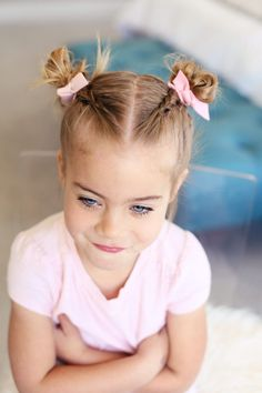 I think I've been asked to do a tutorial on Savy's little dutch braided pigtails over a million times, they are honestly really easy. # dutch pigtail Braids How To: Dutch Braided Pigtails # dutch pigtail Braids Easy Toddler Hairstyles, Pigtail Hairstyles, Baby Girl Hairstyles, Braided Hairstyles For Wedding, Funky Hairstyles, Hairstyle For Baby Girl, Teenage Hairstyles, Wedding Updo, Dutch Pigtail Braids