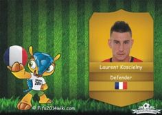 Laurent Koscielny - France Player - FIFA 2014 Argentina Players, Brazil Players, Germany Players, Messi Argentina, Sven Bender, Lars Bender, Cristiano Ronaldo Profile, Lionel Messi, Eduardo Vargas