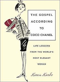 The Gospel According to Coco Chanel---ARC--Collector's Item---Rare #DoesNotApply
