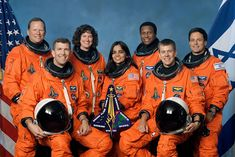 """""""NASA is an agency built on the legacy of brave explorers. Sixteen years ago today we lost the crew of the Space Shuttle Columbia. Columbia, Ilan Ramon, Space Shuttle Disasters, Space Disasters, Sts 107, Christa Mcauliffe, Space Shuttle Missions, Photo Tips, Astronomy"""
