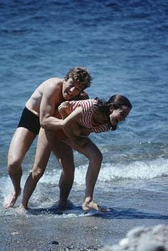 "Audrey Hepburn & Albert Finney (in ""Two for the Road"" (1967))"