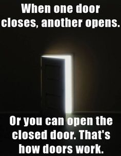 Even if you were the one who closed it in the first place...