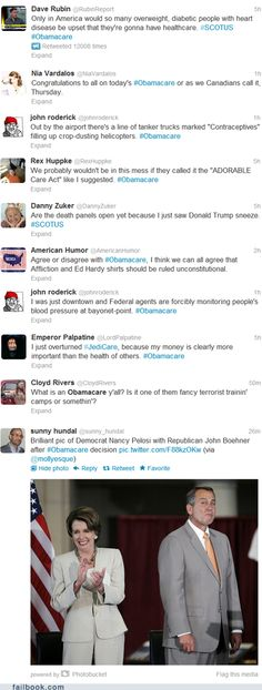 epic fail photos - Failbook: Ten Tweets About Obamacare