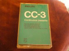 PHILLIPS CC-3  CONTINUUS CASSETTE ENDLOSKASSETTE-selten-rare MC -TOP!