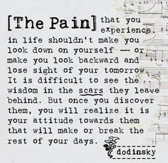 Positive Inspirational Quotes: The pain that you experience ...
