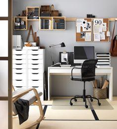 18 tolle ideen wie du dein b ro zuhause sch n gestalten kannst hausb ro design b ros und alles. Black Bedroom Furniture Sets. Home Design Ideas