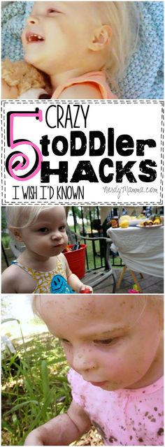 These 5 crazy toddler hacks--genius. I mean, I wish I'd known them...and I'm only ABOUT to have a toddler! LOL!