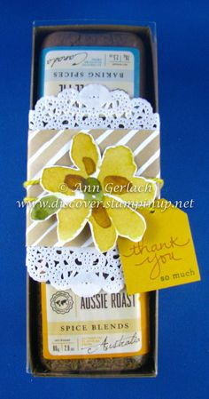Yummy gift packaging present | Discover Ink – Ann Gerlach Independent Stampin' Up!® Demonstrator