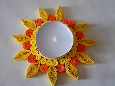 Tea Light Quill Decor
