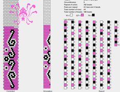 9 beads around 3 colors bead crochet pattern BEADED JEWELRY Авторские украшения's photos – 19 albums Loom Bracelet Patterns, Beaded Necklace Patterns, Bead Loom Bracelets, Bead Crochet Patterns, Bead Crochet Rope, Beading Patterns, Beading Ideas, Beaded Boxes, Bead Jewellery