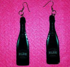 Belaire Earrings...Fun Customization!! Custom Earrings, Lifestyle, Fun, Hilarious