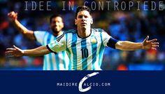 Argentina-Cile, le formazioni ufficiali: Messi out, al suo posto Gaitan - http://www.maidirecalcio.com/2016/06/07/argentina-cile-formazioni-ufficiali.html