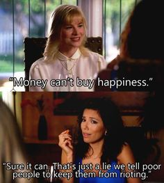 The most honest thing Gabrielle Solis has ever said