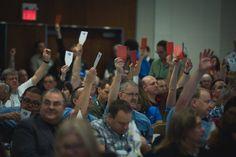 PIPSC AGM Delegates / Délégués à l'AGA de L'Institut Over 423 delegates will participate in the Annual General Meeting of the Institute on November 6-7. #PIPSC2015 #pipsc