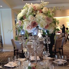 Mayflowers Floral Studio - #tbt to an ideal centerpiece for conversation (not...