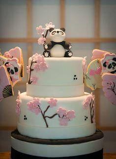 Festa infantil inspirada no Japão com tema panda - Constance Zahn | Babies & Kids