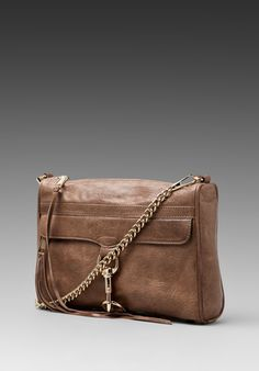 REBECCA MINKOFF MAC Clutch in Taupe at Revolve Clothing - Free Shipping!