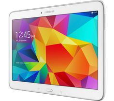 """SAMSUNG Galaxy Tab 4 10.1"""" Tablet - 16 GB, White"""