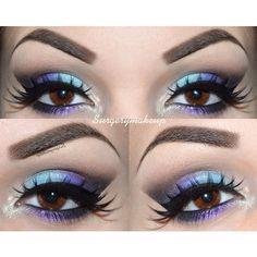 @surgerymakeup, nablacosmetics prerogative and dreamer eyeshadows, motivecosmetics fantasy, chocolight, onxy eyeshadows, nyxcosmetics milk jumbo, makeupgeek mermaid eyeshadow
