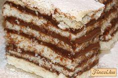Hatlapos sütemény recept képpel, pontos hozzávalókkal és elkészítési leírással. Kipróbált Krémes sütik, Omlós tészta, Összes recept, biztos siker. Tiramisu, Deserts, Food And Drink, Pie, Yummy Food, Breakfast, Ethnic Recipes, Drinks, Blog