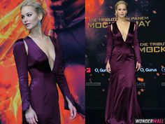 JLaw looking SUPER fab as always. Love this dress