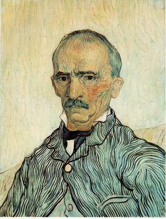 VAN GOGH, Vincent  Portrait of Trabuc  1889