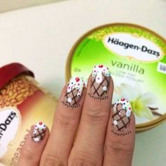 Ice cream nails
