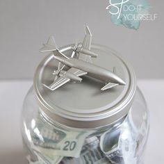 DIY honeymoon money jar