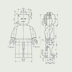 Anatomy of a LEGO minifigure