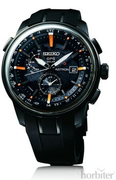 30 minutes off the wrist with the new SEIKO GPS Astron