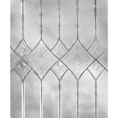 Artscape is a thin translucent film that creates the look of stained and etched glass. They are easy to apply to any smooth glass surface without the use of adhesives and are easily removed if needed. Frosted Window Film, Stained Glass Window Film, Leaded Glass Windows, Etched Glass Windows, Bay Windows, Window Glass, Window Art, Diy Origami, Glass Film Design