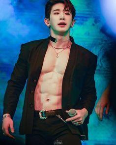 Nazwa o wszystkim mówi. Kihyun, Jooheon, Hyungwon, Shownu, Asian Boys, Asian Men, Wonho Abs, Men Abs, Korean Boys Ulzzang