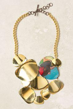 Like it, very summery. Sunshower Bib Necklace -