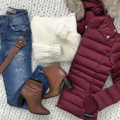 simple winter outfits Casual and Simple Spring Outfits Ideas Cute Winter Outfits, Casual Work Outfits, Winter Fashion Outfits, Mode Outfits, Simple Outfits, Classy Outfits, Look Fashion, Spring Outfits, Trendy Outfits