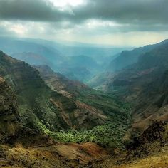 Waimea #Canyon #Kauai #Hawaii #Travel #Hawaii