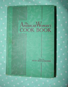 Cookbook Antique WWII Era American Women's Cookbook-Hardcover Must for Collector's by flyingdollar on Etsy
