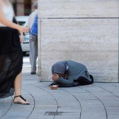 Handicapped Beggars Reality.