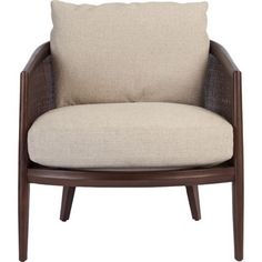 McGuire Furniture: Arc Lounge Chair: A-103ggg