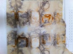 Rust-dyed Fabric