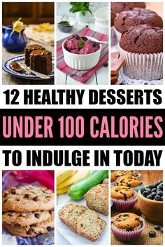 Looking for healthy desserts under 100 calories that are quick and easy to make and taste delicious? ME TOO! Lucky for you, I've rounded up 12 healthy desserts you will want to indulge in TONIGHT. From no bake cookie dough protein bars and chocolate fudge