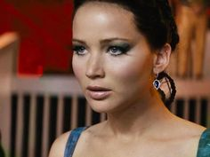 Catching Fire - Katniss makeup