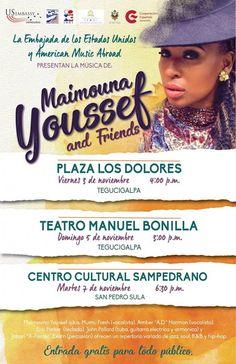 Honduras, Nación y Mundo: La banda estadounidense Maimouna Youssef y Friends...