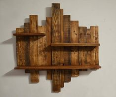 Wooden library, rustic floating frame, reclaimed wood shabby chic shelf brown, hanging wall art, vintage home decor – Bar Shabby Chic Shelves, Rustic Wall Shelves, Wall Shelves Design, Pallet Wall Shelves, Diy Pallet Furniture, Rustic Furniture, Palette Deco, Hanging Wall Art, Diy Wood Projects