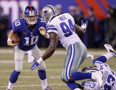New York Giants at Dallas Cowboys, Week 1…