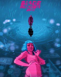 My Blade Runner 2049 poster for @PosterSpy #BladeRunner2049 #alternativemovieposter #Gallery2049