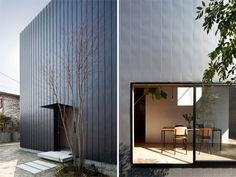 Japanese architecture with warm minimalism