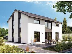 Variant 25-183 - #Einfamilienhaus von Hanse Haus GmbH Vertriebsbüro Dresden | HausXXL #Stadthaus #Fertighaus #modern #Satteldach